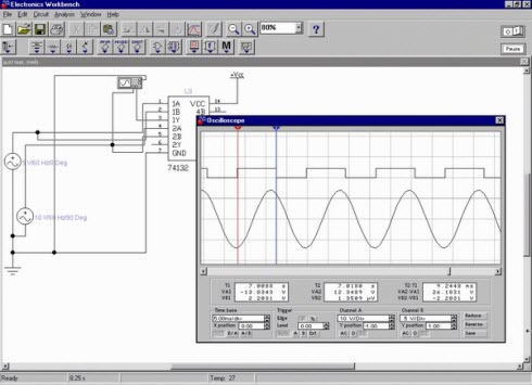 Electronics WorkBench 5.12
